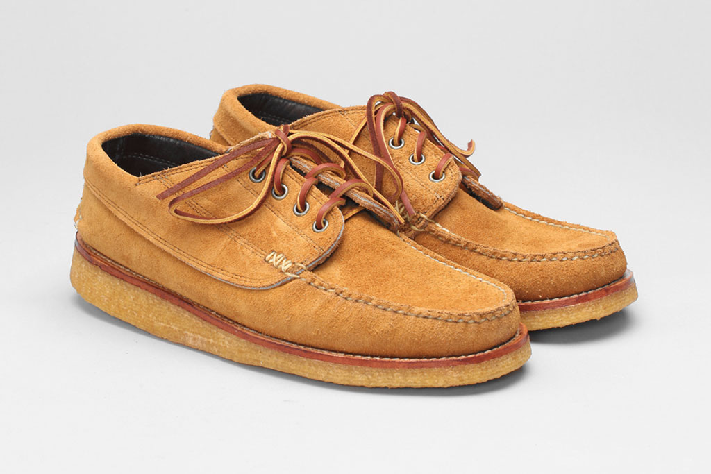 Yuketen Angler Moc With Crepe Wedge Sole