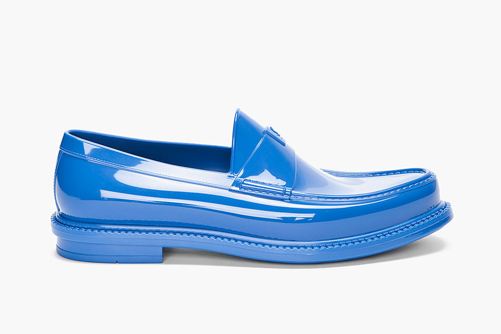 Yves Saint Laurent Cobalt Show Loafers