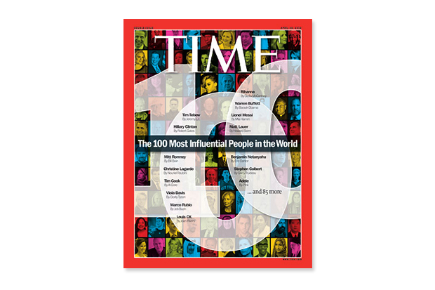 2012 TIME 100: The Most Influential People in the World
