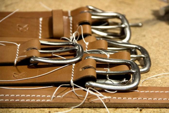 3sixteen 2012 Heavyweight Stitched Belt