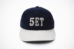 5th Street Bakery x SET x Ebbets Field Flannels Cap
