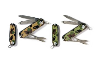 A Bathing Ape x Victorinox 1st Camo Pocket Knife