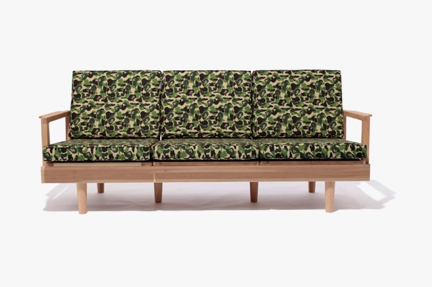 A Bathing Ape x FABRICK x Karimoku CAMO Furniture Collection