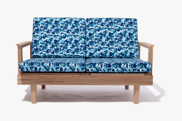 A Bathing Ape x FABRICK x Karimoku CAMO Furniture Collection
