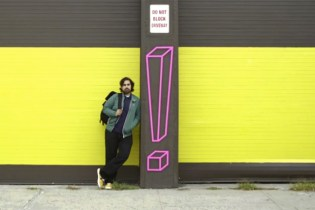 Aakash Nihalani's Different Take On Street Art with Masking Tape