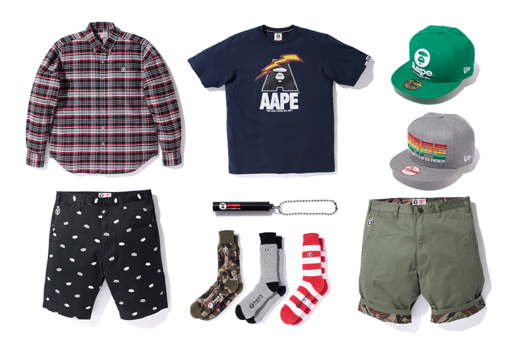 aape by a bathing ape 2012 spring summer collection