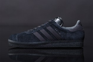 "adidas Originals 2012 Spring Gazelle ""Black Pack"""