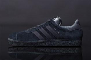 "adidas Originals 2012 Spring Gazelle ""Black Pack"""