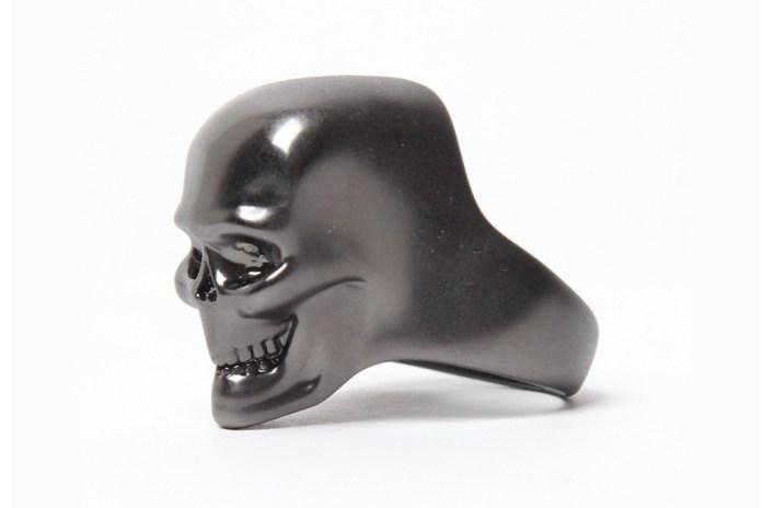 Alexander McQueen 3D Skull Ring