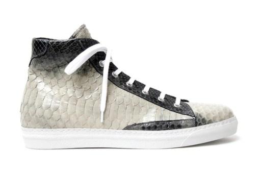 Alexander McQueen 2012 Spring/Summer Python Skin High Top