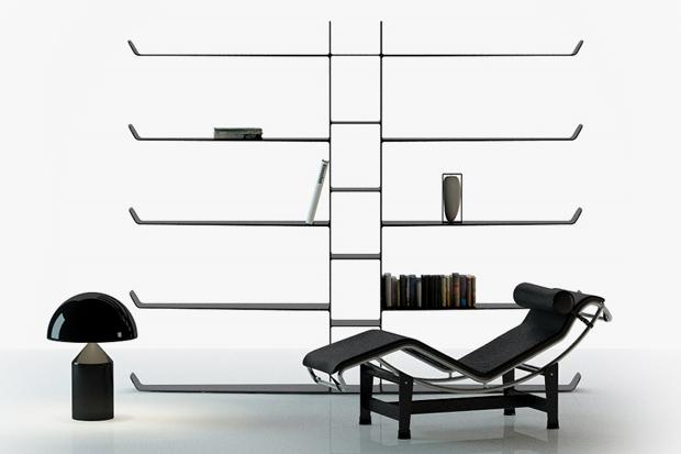 Aliante Bookshelf by Davide Anzalone