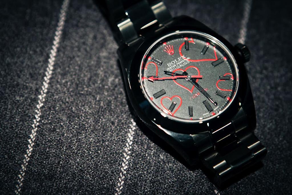 """Bamford Watch Department Rolex """"The Love Heart"""" Milgauss"""