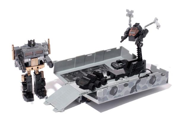 A Bathing Ape x Transformers Convoy Black Version