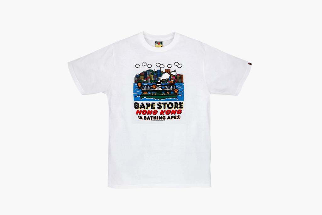 bape store hong kong 6 year anniversary collection