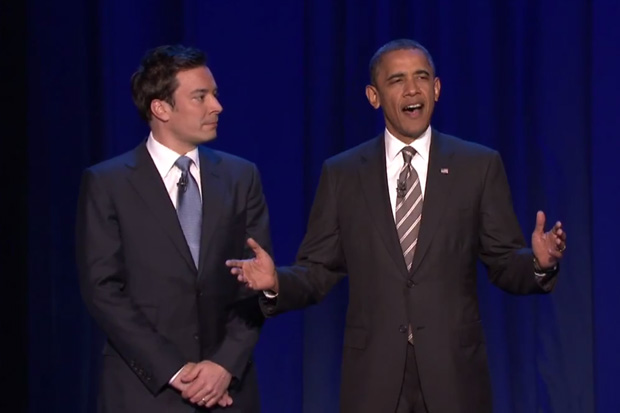 "Barack Obama ""Slow Jams"" The News on Late Night with Jimmy Fallon"