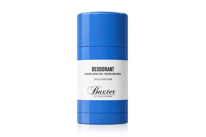 "Baxter of California New Product ""DEODORANT"""