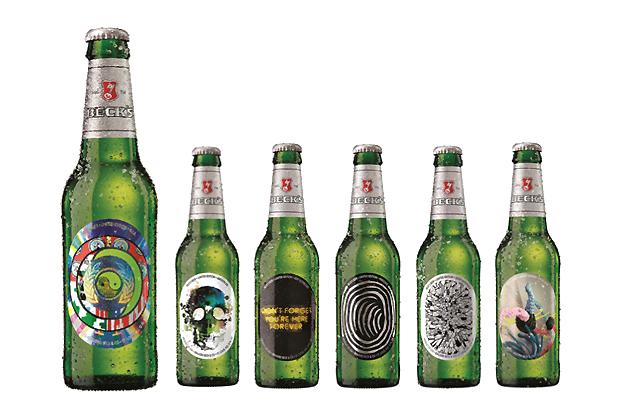Beck's 2012 Limited Edition Artist Series Bottles