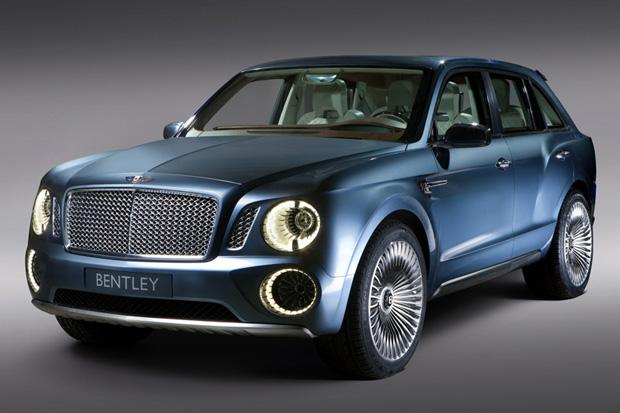 Bentley Debuts EXP 9 F Luxury SUV