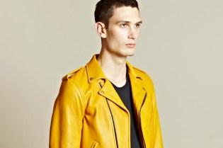Blackmeans 2012 Spring/Summer Biker Leather Jacket