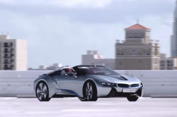 BMW i8 Concept Spyder Teaser