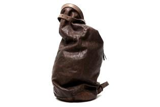 Boris Bidjan Saberi Leather Camping Bag