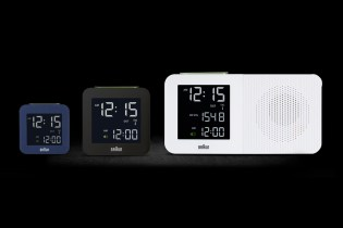 Braun BNC Digital Alarm Clocks