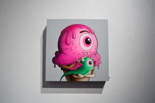 "Buff Monster ""Legend of the Pink Cherry"" Exhibition @ Corey Helford Gallery Recap"