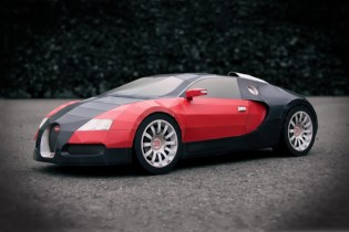 Bugatti Veyron Made From A4 Paper Video