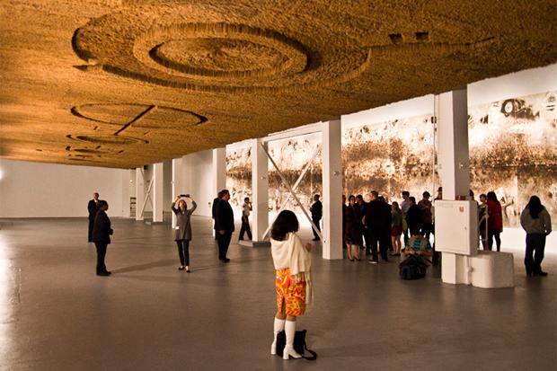 """Cai Guo-Qiang """"Sky Ladder"""" Exhibition @ MOCA"""