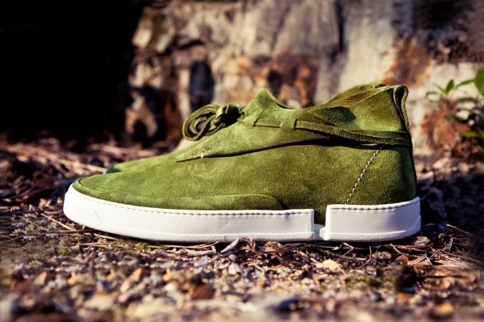 Casbia 2012 Spring/Summer WILLIAM CAMEL SUEDE Forest