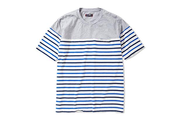 CASH CA 2012 Spring/Summer PANEL BORDERS SS T-Shirt