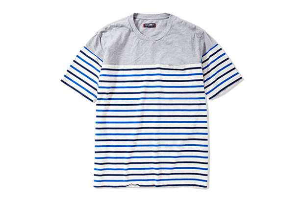cash ca 2012 spring summer panel borders ss t shirt