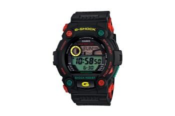Casio G-Shock G-7900RF-1JF Rastafarian