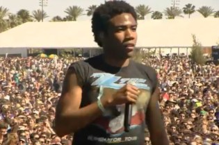 Childish Gambino Brings out Kendrick Lamar and Danny Brown at Coachella 2012
