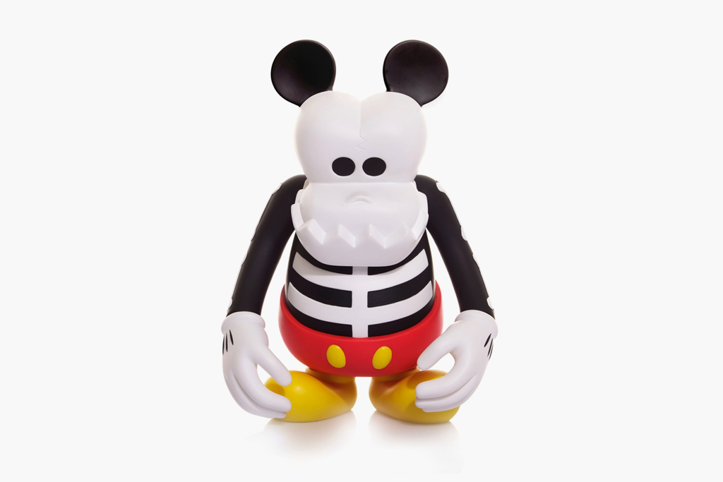 CLOT & Disney x MindStyle x BOUNTY HUNTER Skull Kun Mickey