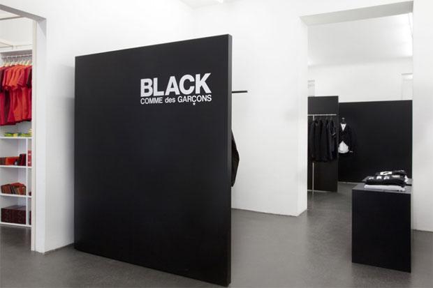 COMME des GARCONS BLACK Store & POCKET Store Berlin
