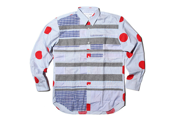 COMME des GARCONS SHIRT 2012 Spring/Summer Mix Pattern Shirts