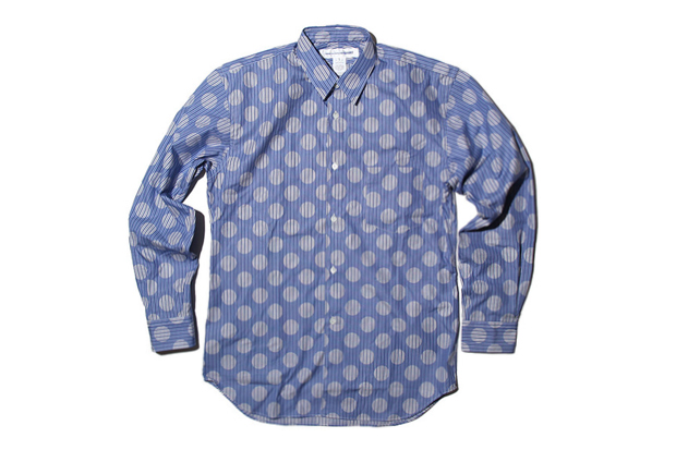 comme des garcons shirt 2012 spring summer mix pattern shirts