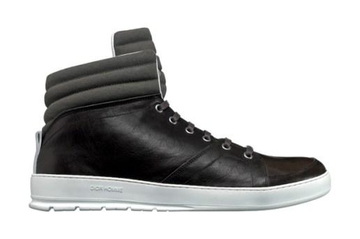 Dior Homme Black Tie Sneaker