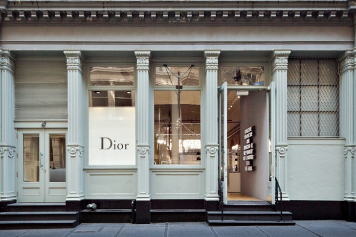 Dior Homme SoHo New York Pop-Up Store