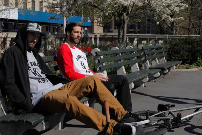 Ebbets Field Flannels for Animal Bikes Capsule Collection Lookbook