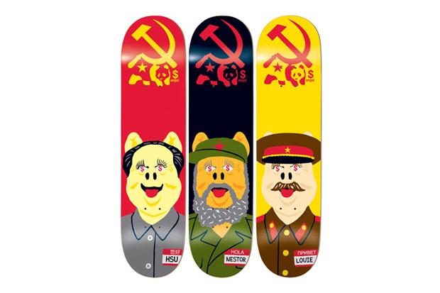 Enjoi Skateboarding Communist Pigs Series Decks