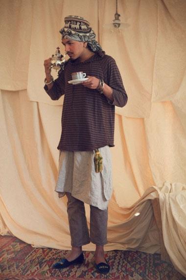 """EYESCREAM x Lambda Takahashi x nonnative 2012 """"Espresso Eyescream"""" Lookbook"""