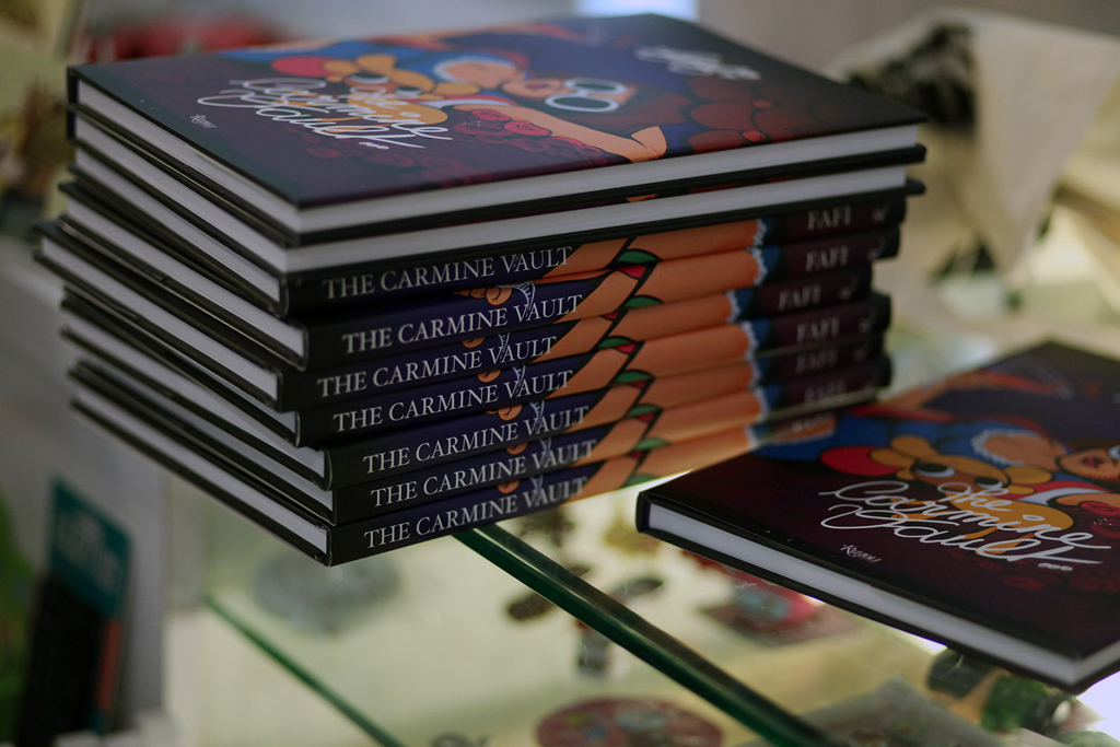 fafi the carmine vault mini exhibit book release party gallery nucleus recap