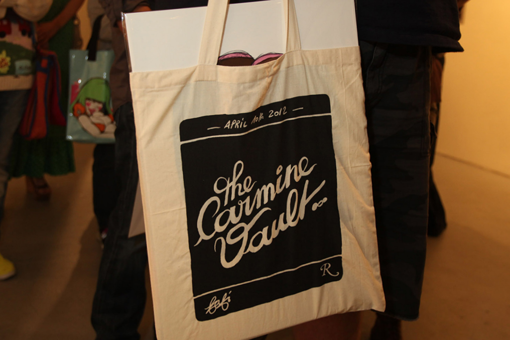 "Fafi ""The Carmine Vault"" Mini Exhibit/Book Release Party @ Gallery Nucleus Recap"