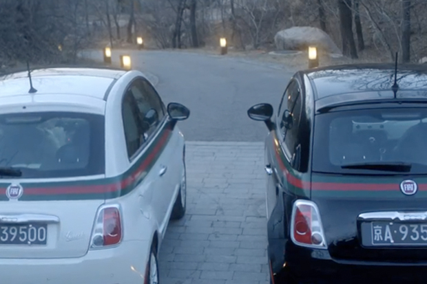 """Fiat 500 By Gucci """"Divergence"""" Video by Alexi Tan"""
