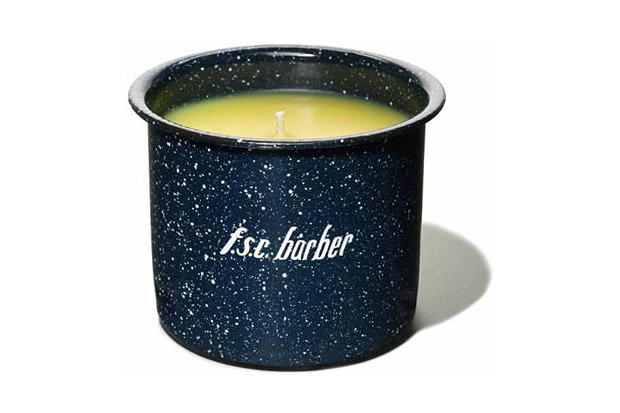 f s c barber candle