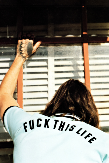 """GRIND: WACKO MARIA 2012 Spring/Summer """"FUCK THIS LIFE"""" Collection Editorial"""