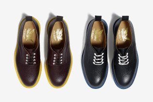 HAVEN x Mark McNairy Army Grain Derby Shoe