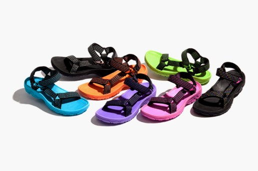 Head Porter Plus × atmos x TEVA Dot Print Sandals